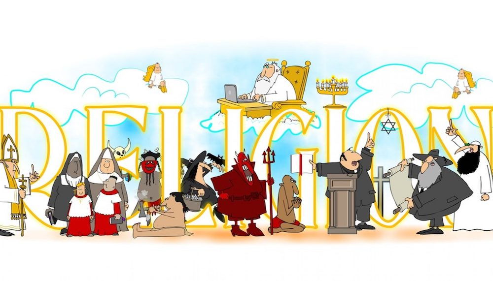 宗教 漫画